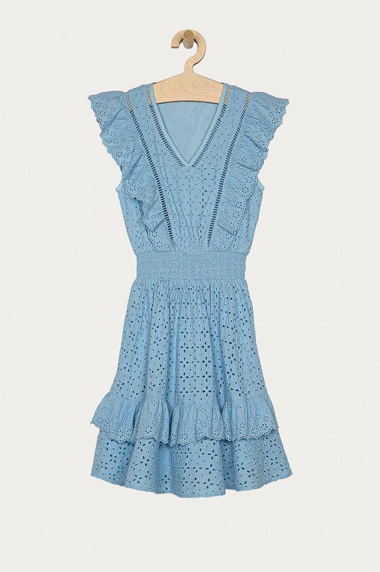 jasny niebieski Guess - Sukienka Dziewczęcy