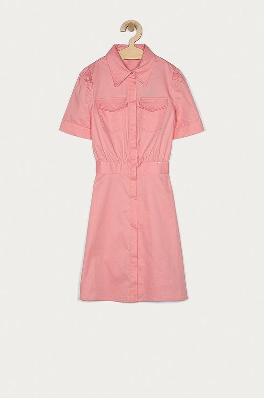 růžová Guess - Dívčí šaty 140-176 cm Dívčí
