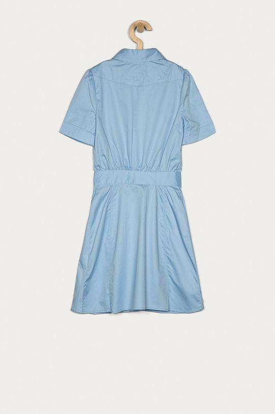 Guess - Sukienka dziecięca 140-176 cm jasny niebieski