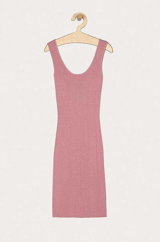 Guess - Sukienka różowy
