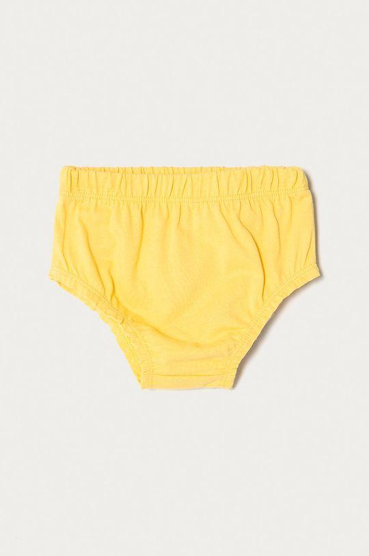 Guess - Sukienka dziecięca 62-96 cm żółty
