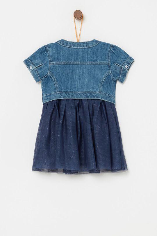 OVS - Dievčenské šaty 74-98 cm tmavomodrá