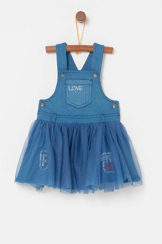 červenofialový OVS - Dievčenské šaty 74-98 cm Dievčenský