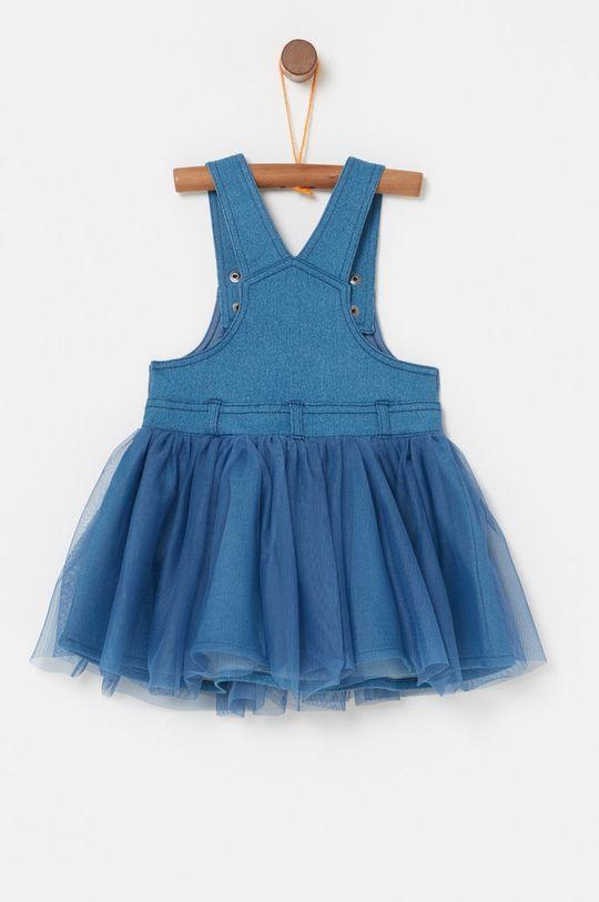 OVS - Dievčenské šaty 74-98 cm červenofialový
