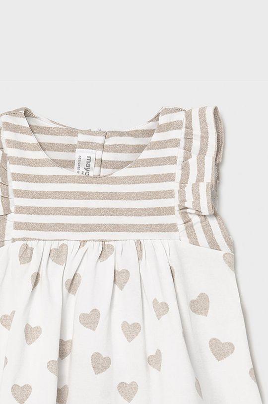 piaskowy Mayoral Newborn - Sukienka dziecięca 60-86 cm