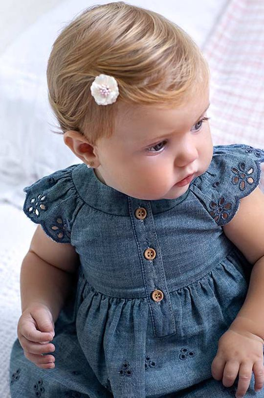 červenofialový Mayoral Newborn - Dievčenské šaty 60-86 cm Dievčenský