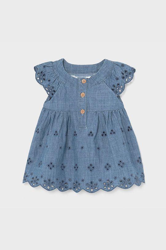 Mayoral Newborn - Dievčenské šaty 60-86 cm červenofialový