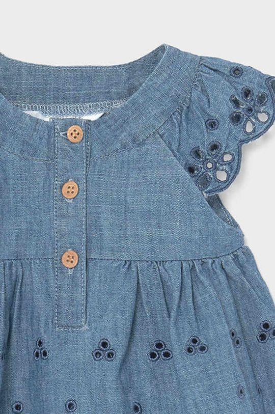 červenofialový Mayoral Newborn - Dievčenské šaty 60-86 cm