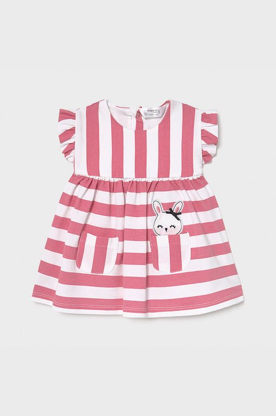 ostry różowy Mayoral Newborn - Sukienka dziecięca Dziewczęcy