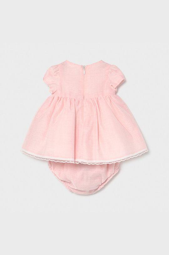 Mayoral Newborn - Sukienka dziecięca 60-86 cm pastelowy różowy