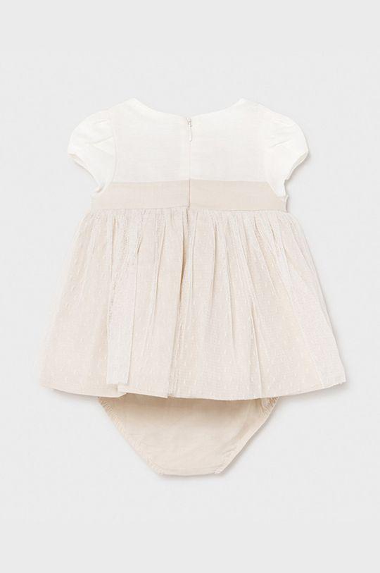 Mayoral Newborn - Sukienka dziecięca Podszewka: 60 % Bawełna, 40 % Poliamid, Materiał zasadniczy: 66 % Bawełna, 7 % Len, 27 % Poliamid