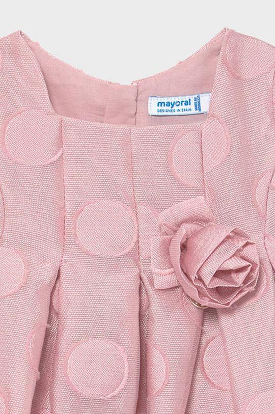 Mayoral - Dievčenské šaty 68-98 cm  Podšívka: 100% Bavlna Základná látka: 100% Polyester