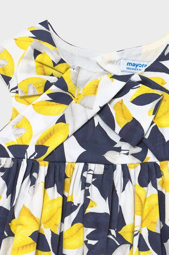 Mayoral - Dievčenské šaty  Podšívka: 100% Bavlna Základná látka: 97% Bavlna, 3% Elastan