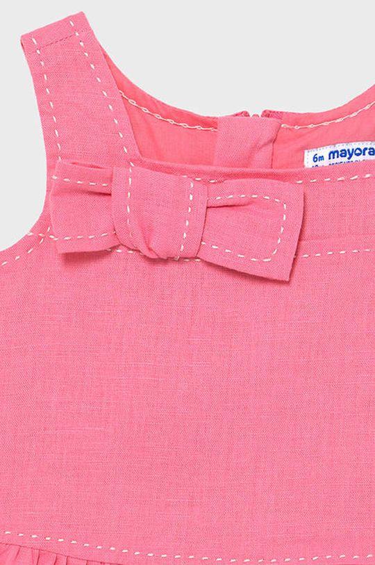 Mayoral - Sukienka dziecięca Podszewka: 100 % Bawełna, Materiał zasadniczy: 62 % Bawełna, 38 % Len