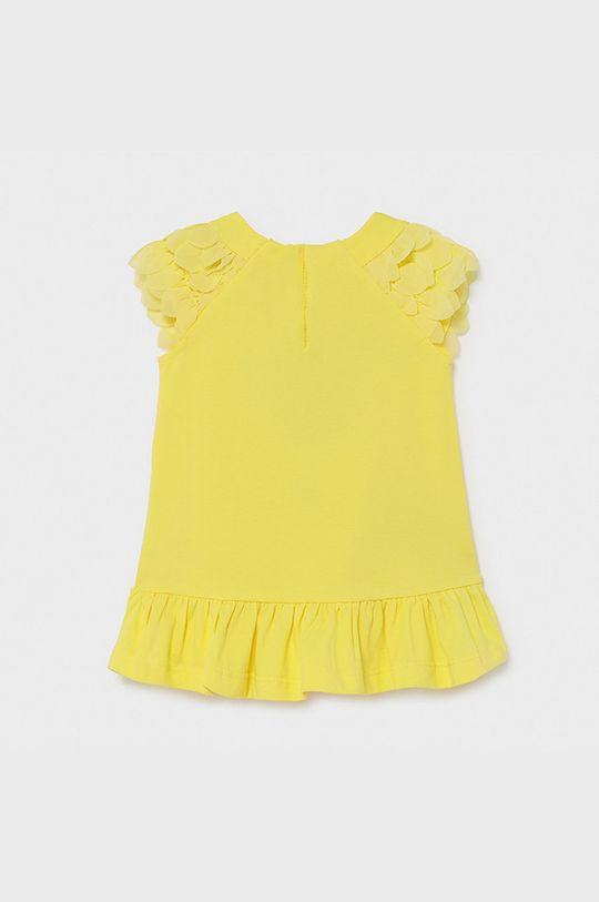 Mayoral - Sukienka dziecięca żółty