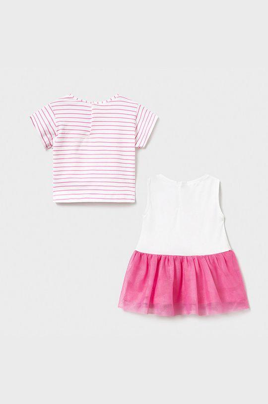 Mayoral - Dievčenské šaty 68-98 cm bledofialový