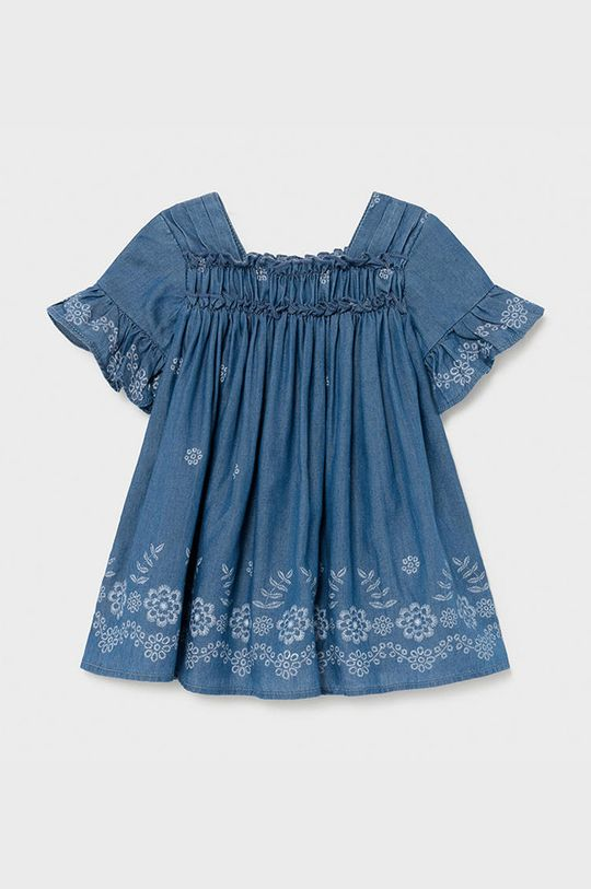 Mayoral - Dievčenské šaty červenofialový