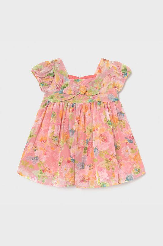 růžová Mayoral - Dívčí šaty Dívčí