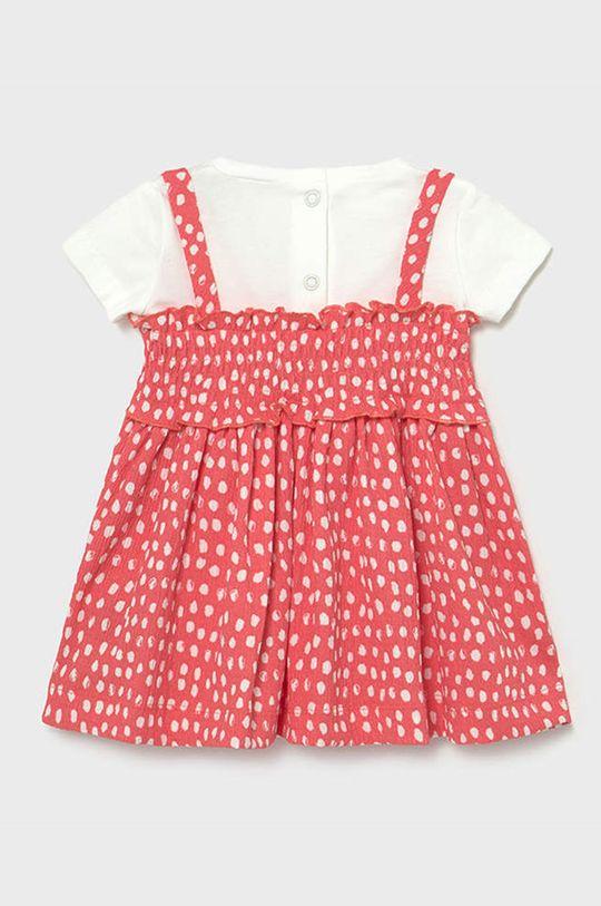 Mayoral - Sukienka dziecięca ostry różowy