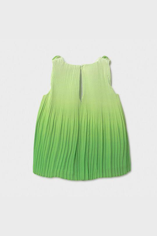 Mayoral - Dievčenské šaty bledozelená