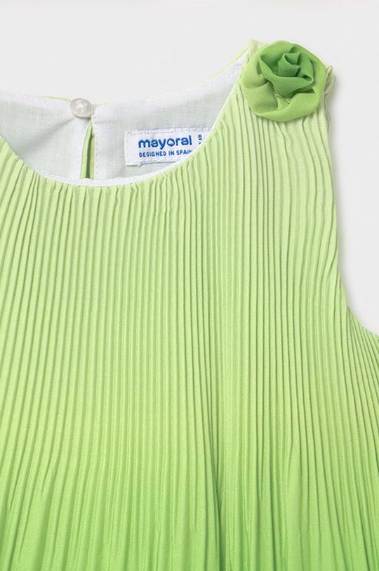 Mayoral - Dievčenské šaty  Podšívka: 100% Polyester Základná látka: 100% Polyester