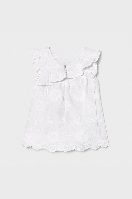Mayoral - Sukienka dziecięca biały