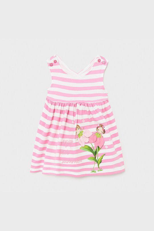 różowy Mayoral - Sukienka dziecięca 68-98 cm Dziewczęcy