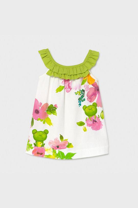 blady zielony Mayoral - Sukienka dziecięca Dziewczęcy