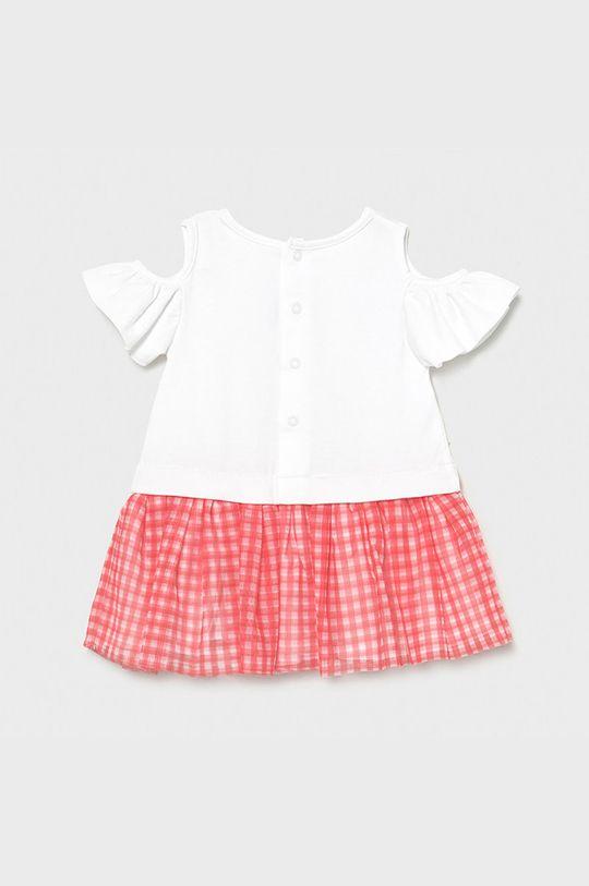 Mayoral - Dievčenské šaty sýto ružová