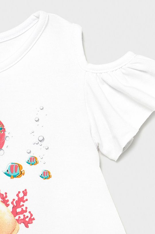 Mayoral - Dievčenské šaty  Podšívka: 95% Bavlna, 5% Elastan Základná látka: 67% Bavlna, 3% Elastan, 30% Polyester
