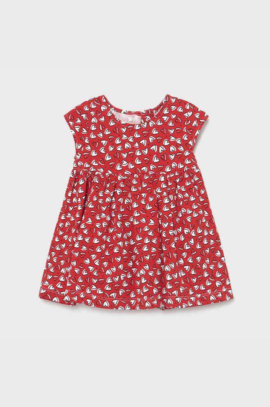 czerwony Mayoral - Sukienka dziecięca Dziewczęcy