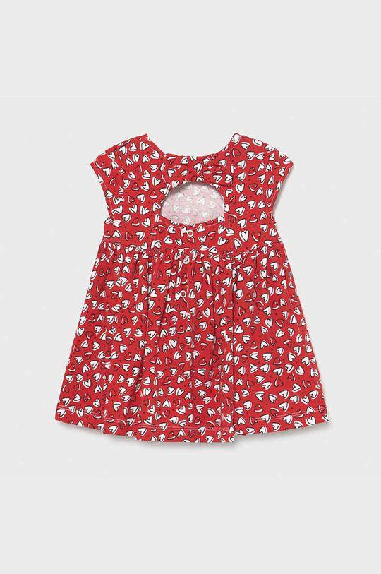 Mayoral - Sukienka dziecięca czerwony