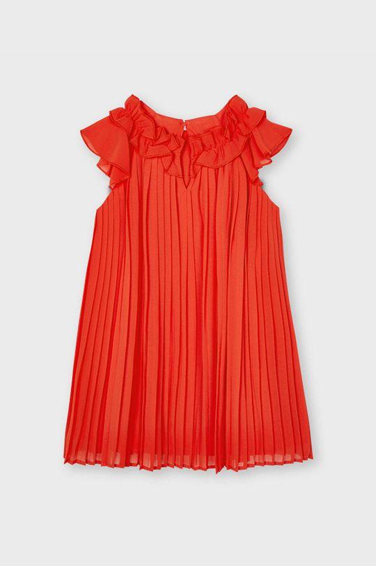Mayoral - Dievčenské šaty červená