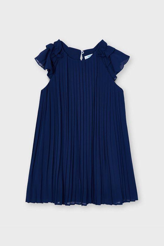 námořnická modř Mayoral - Dívčí šaty Dívčí