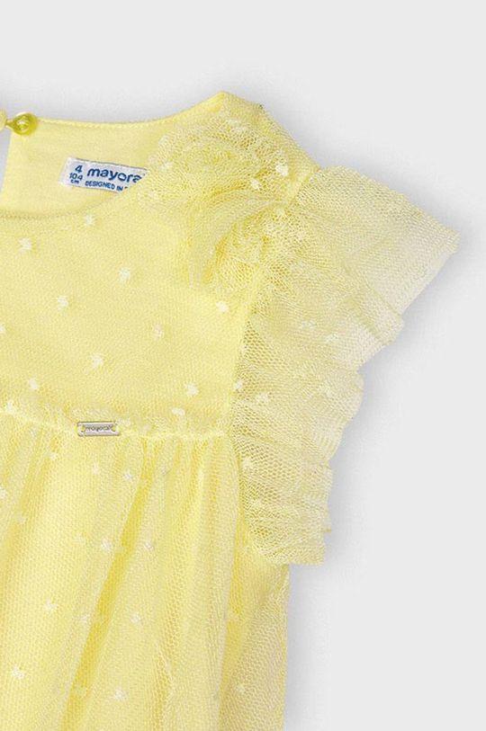 svetložltá Mayoral - Dievčenské šaty