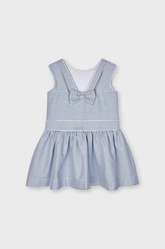 Mayoral - Dievčenské šaty  Podšívka: 35% Bavlna, 65% Polyester Základná látka: 2% Elastan, 65% Polyester, 32% Viskóza, 1% Metalické vlákno