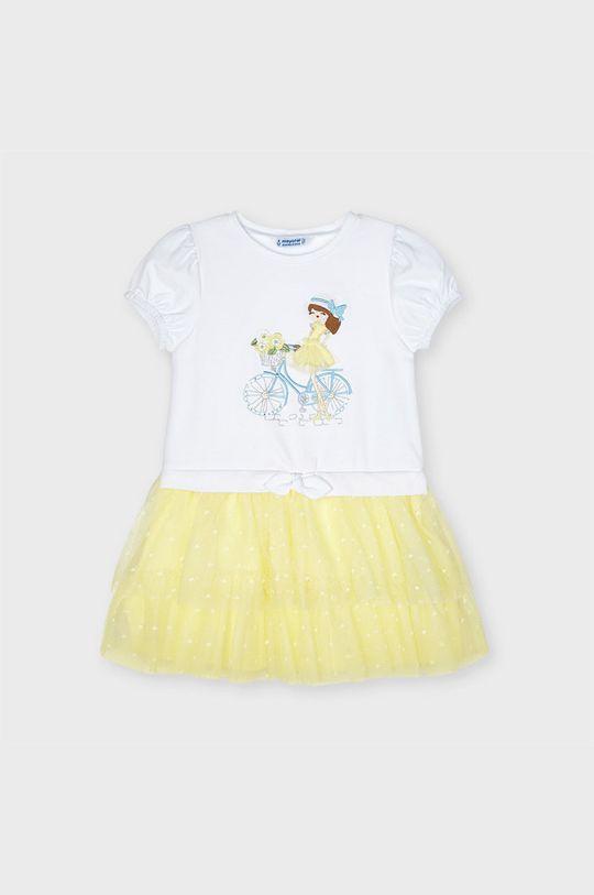 Mayoral - Dievčenské šaty  Podšívka: 100% Bavlna Základná látka: 46% Bavlna, 4% Elastan, 50% Polyester