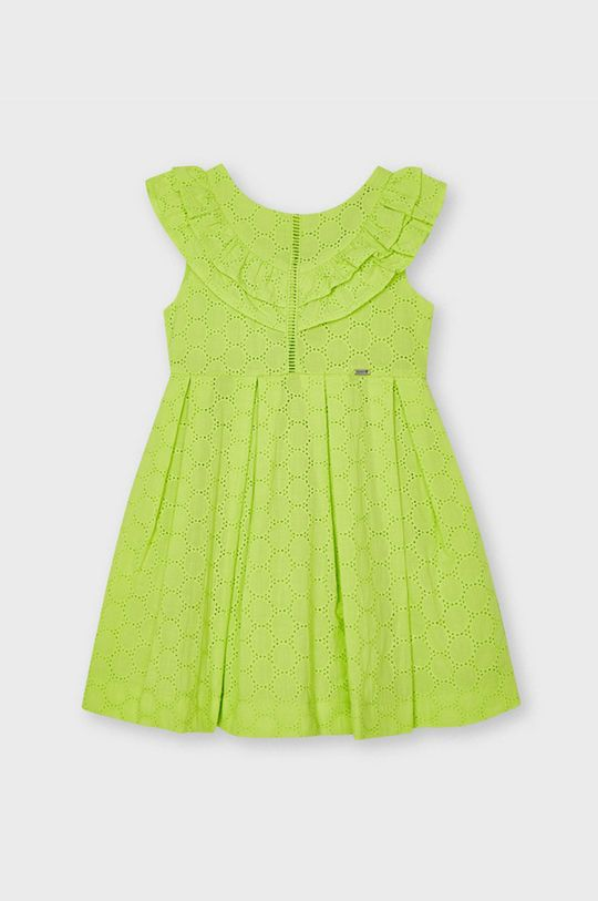 žlto-zelená Mayoral - Dievčenské šaty Dievčenský