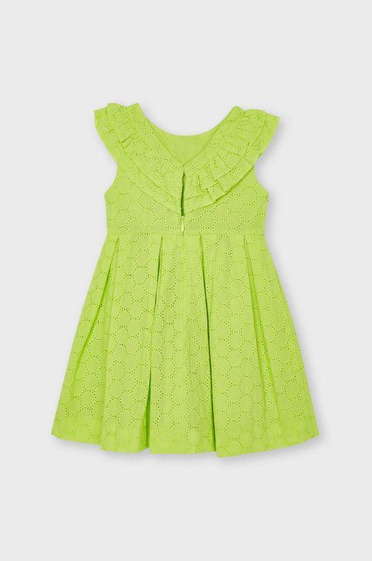 Mayoral - Dievčenské šaty žlto-zelená