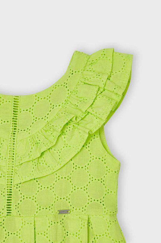 Mayoral - Dievčenské šaty  Podšívka: 35% Bavlna, 65% Polyester Základná látka: 100% Bavlna