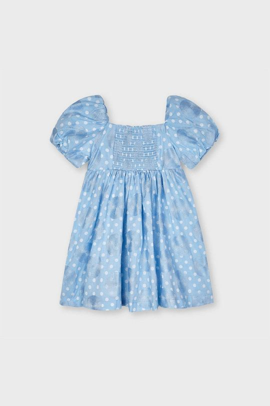 Mayoral - Sukienka dziecięca 92-134 cm jasny niebieski