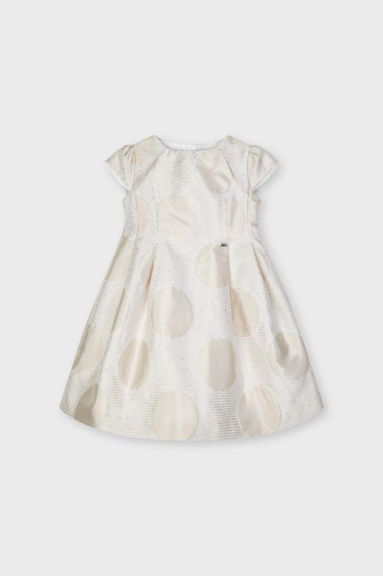 Mayoral - Dievčenské šaty béžová