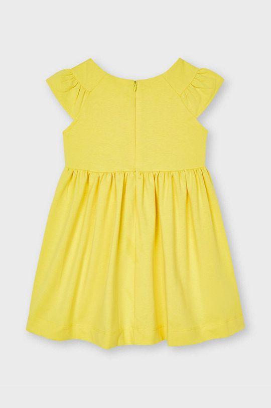 Mayoral - Dievčenské šaty žltá