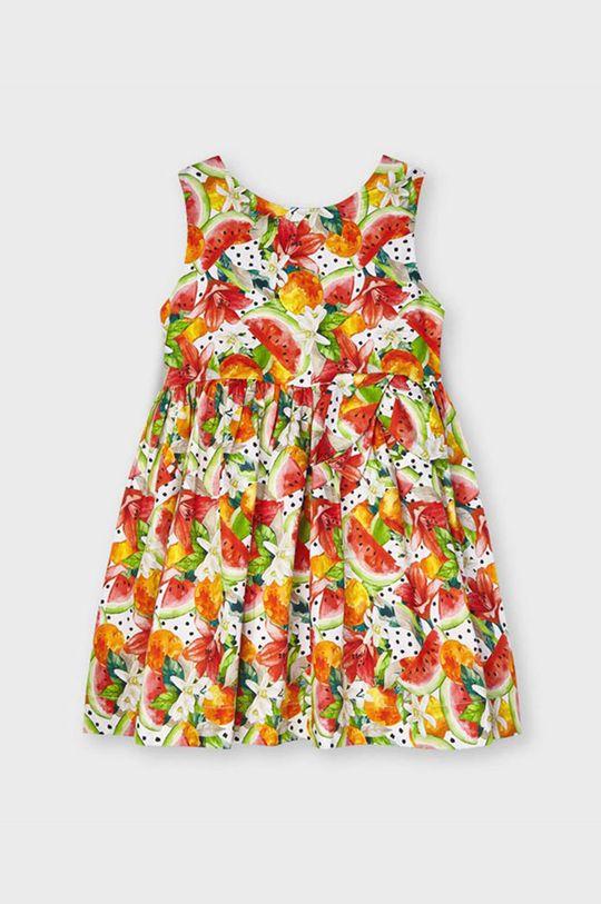 Mayoral - Dievčenské šaty  Podšívka: 20% Bavlna, 80% Polyester Základná látka: 100% Bavlna