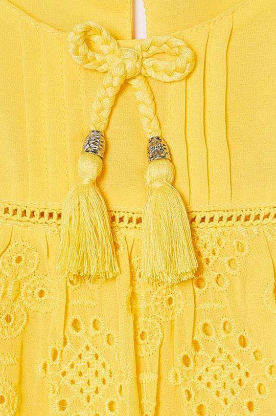 Mayoral - Dievčenské šaty  Podšívka: 100% Bavlna Základná látka: 3% Bavlna, 97% Polyester