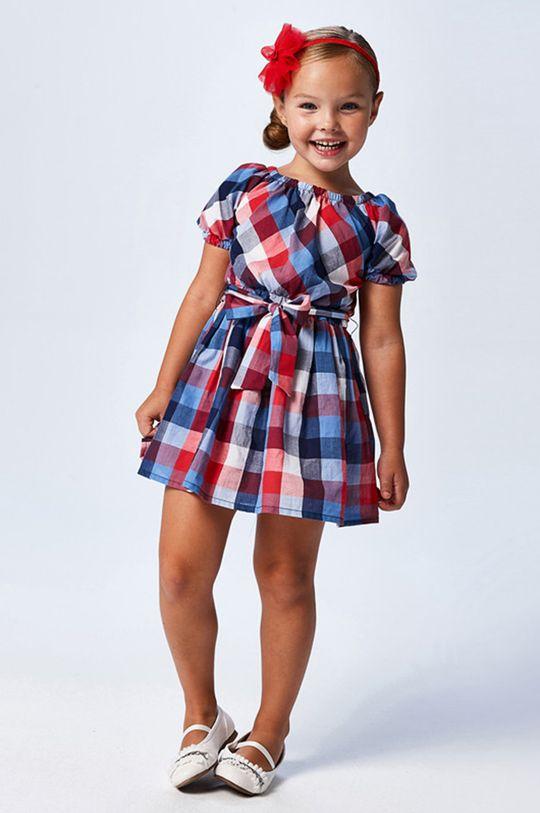 viacfarebná Mayoral - Dievčenské šaty Dievčenský