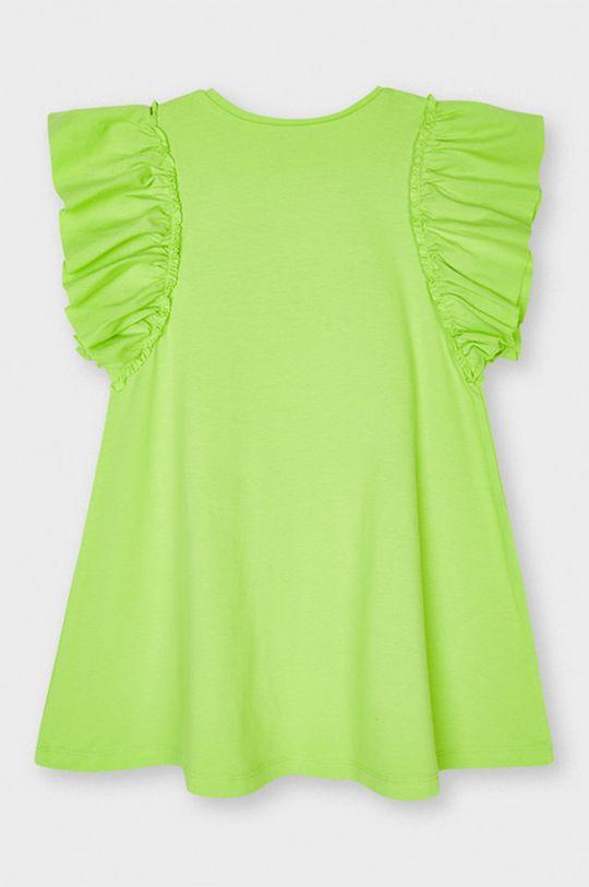 Mayoral - Rochie fete galben – verde