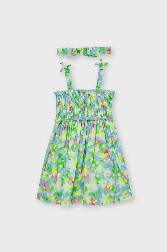 jasny niebieski Mayoral - Sukienka dziecięca Dziewczęcy