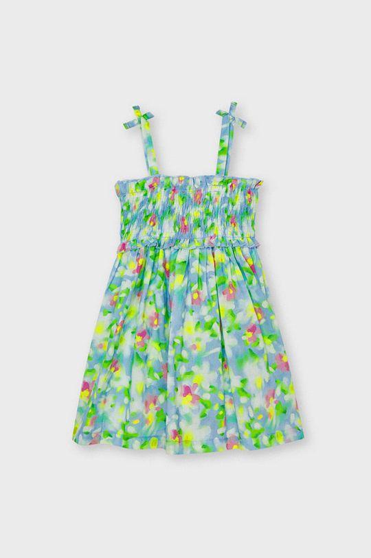Mayoral - Sukienka dziecięca jasny niebieski