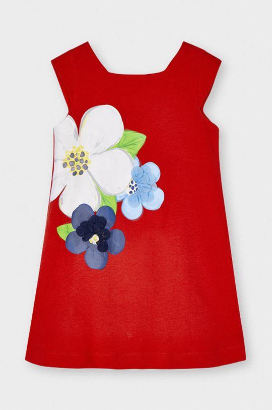 sýtočervená Mayoral - Dievčenské šaty Dievčenský